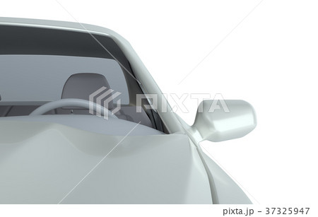 Car isolated on white 37325947