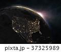 地球 グローバル 立体のイラスト 37325989