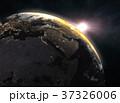 地球 グローバル 立体のイラスト 37326006