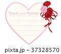 カーネーション メッセージカード 母の日のイラスト 37328570