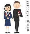 高校生 卒業 卒業証書筒のイラスト 37329188