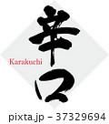 辛口 筆文字 文字のイラスト 37329694