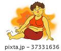 ダイエット 女性 肥満のイラスト 37331636