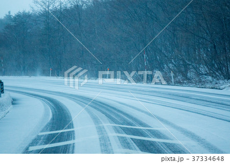 凍結路面 37334648