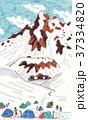 涸沢からの北穂高岳 37334820