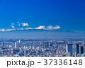 都市風景 都心 ビル街の写真 37336148