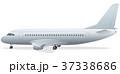 passenger airplane standing in airport 37338686