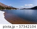 栃木県日光市 湯ノ湖 男体山 3月 37342104