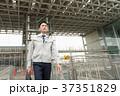 ビジネスマン 建設業 歩くの写真 37351829