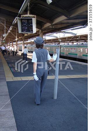在りし日の埼京線の女性車掌さん 37355659