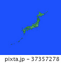 緑の日本地図 37357278