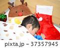 クリスマス 寝る 睡眠の写真 37357945