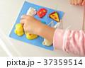 子供と粘土 37359514