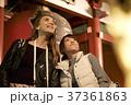 女性 夜 観光の写真 37361863