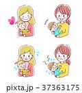 母親 赤ちゃん 親子のイラスト 37363175
