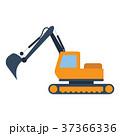 ブルドーザー 工事 機械のイラスト 37366336