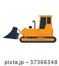 ブルドーザー 工事 機械のイラスト 37366348