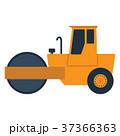 ロード ローラー ベクトルのイラスト 37366363