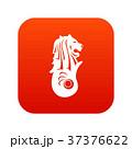 Merlion statue, Singapore icon digital red 37376622