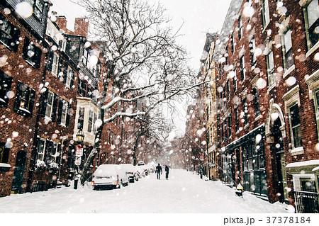 ボストンの冬景色 37378184
