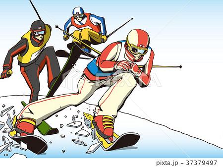 スキークロス 37379497