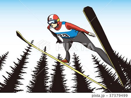 スキー ジャンプ 37379499