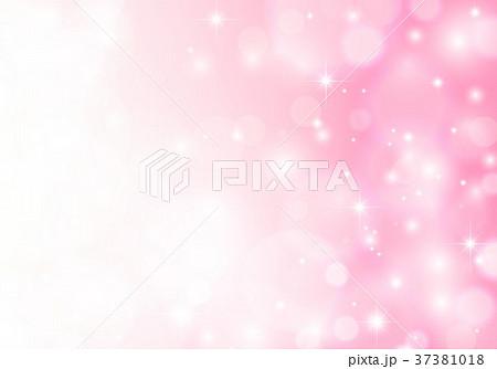 ピンクキラキラ背景 37381018