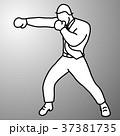 ボクシング 拳闘 職業のイラスト 37381735