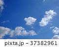 空 青空 雲の写真 37382961