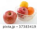 オレンジ リンゴ みかんの写真 37383419
