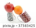 オレンジ リンゴ 果物の写真 37383425