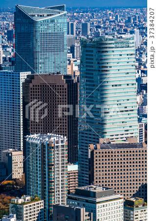 《東京都》東京都心・摩天楼 37384207