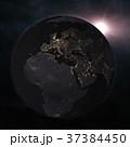 地球 ナイト ライトのイラスト 37384450