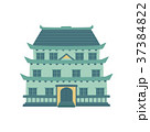 Pagoda, traditional Japanese, Chinese, Asian 37384822