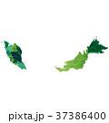 マレーシア 地図 国 アイコン  37386400