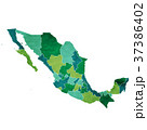 メキシコ 地図 国 アイコン  37386402