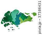 シンガポール 地図 国 アイコン  37386431