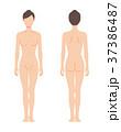 女性の身体(主線なし) 37386487