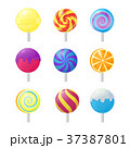 Realistic Detailed 3d Lollipops Candy Set. Vector 37387801