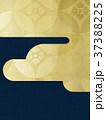 背景 和紙 和柄のイラスト 37388225