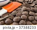 手作りチョコレート バレンタインデー お菓子作りの写真 37388233