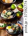 蟹 ムール貝 ムラサキイガイの写真 37392774