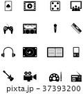 アイコン 娯楽 エンターテイメントのイラスト 37393200