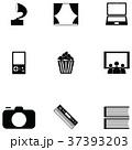 アイコン 娯楽 エンターテイメントのイラスト 37393203