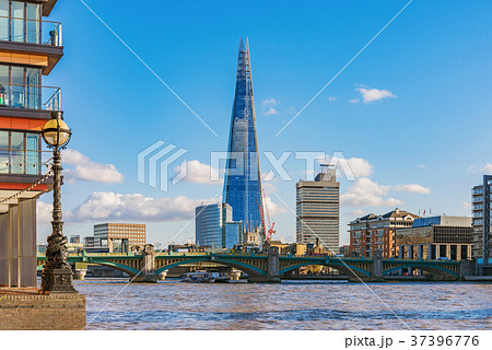 Riverside architecture and The Shard building 37396776