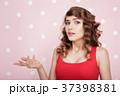 ピンク ピンク色 女性の写真 37398381