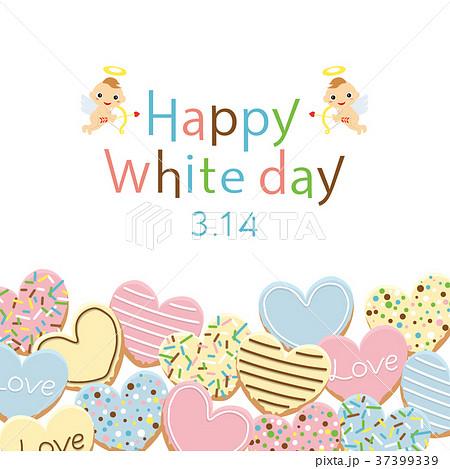 ハッピーホワイトデー アイシングクッキー 37399339