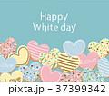 ホワイトデー クッキー ハートのイラスト 37399342