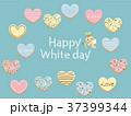 ホワイトデー クッキー ハートのイラスト 37399344