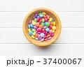 お菓子 チョコレート カラフルの写真 37400067